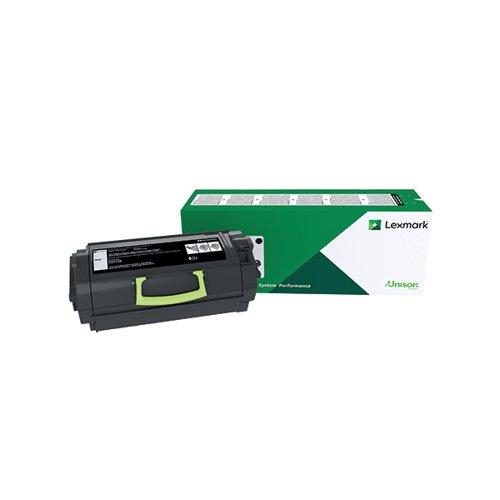 Lexmark 622X Black Extra High Yield Toner Cartridge 62D2X00