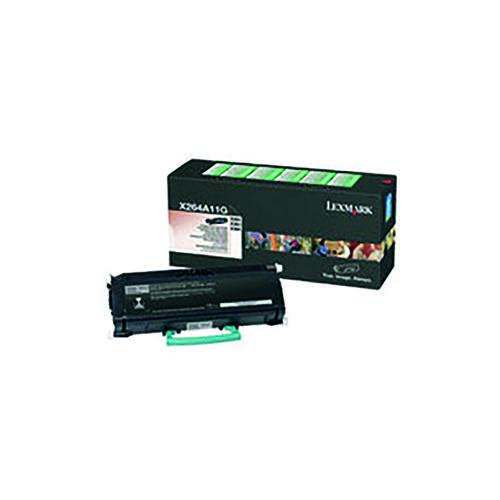 Lexmark X264 Black Return Programme Toner 0X264A11G