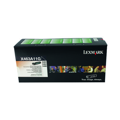 Lexmark X463 Return Programme Black Toner 0X463A11G