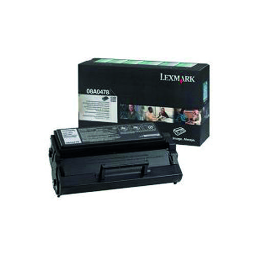 Lexmark E320/322 Black High Yield Return Programme Toner 08A0478