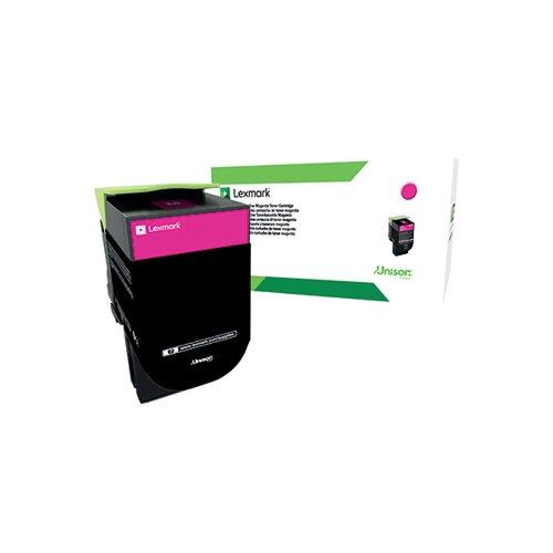 Lexmark 702XM Magenta Extra High Yield Toner Cartridge 70C2XM0