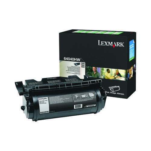 Lexmark 64040HW Corporate Black High Yield Toner Cartridge