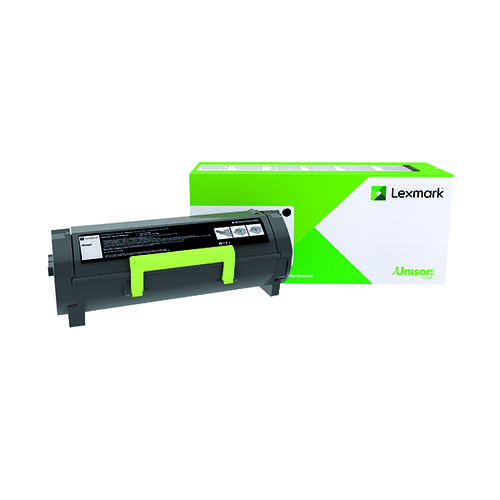 Lexmark 502HE Corporate Black High Yield Toner Cartridge 50F2H0E