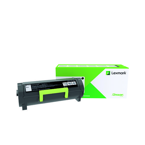 Lexmark 502XE Black Extra High Yield Return Programme Toner 50F2X0E