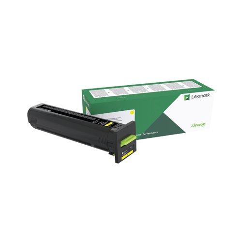 Lexmark CS82X/CX860 Yellow Return Programme Toner Cartridge 72K20Y0