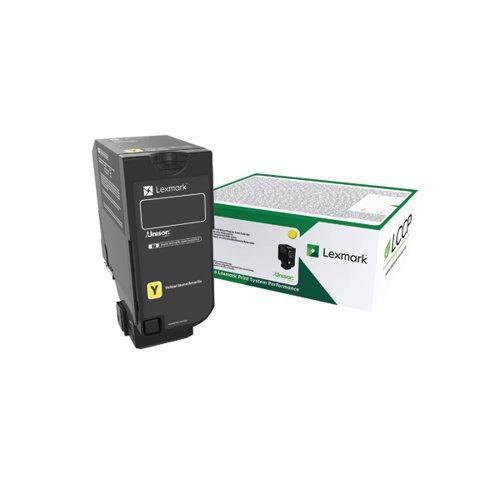 Lexmark CS720/S725/CX725 Yellow Return Programme Toner 74C20Y0