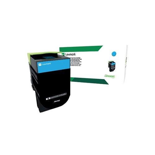 Lexmark CS/X417 Cyan High Yield Toner Cartridge 71B2HC0