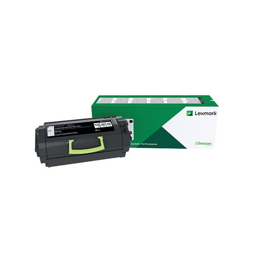 Lexmark MS818 Black Extra High Yield Toner Cartridge 53B2X00