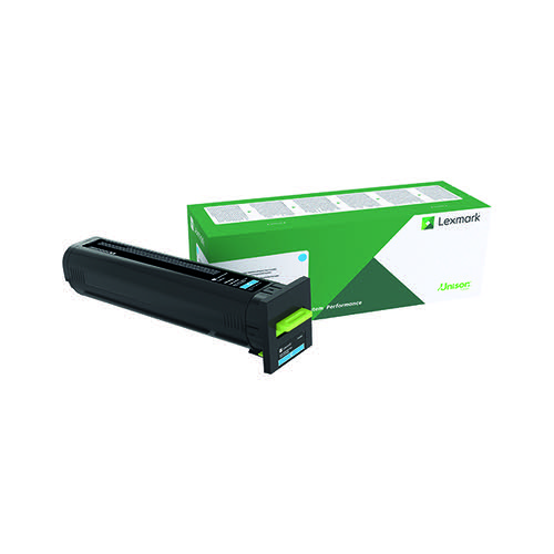 Lexmark CS/CX827 Cyan Toner Cartridge 73B20C0