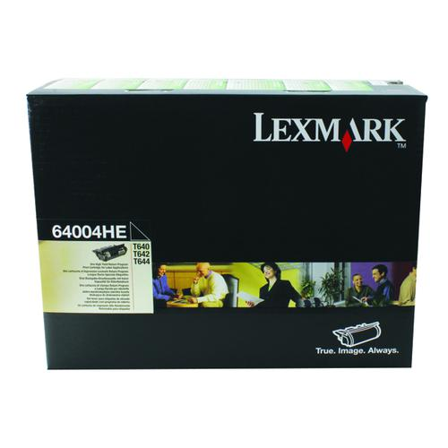 Lexmark Black High Yield Return Program Toner Cartridge 0064004HE