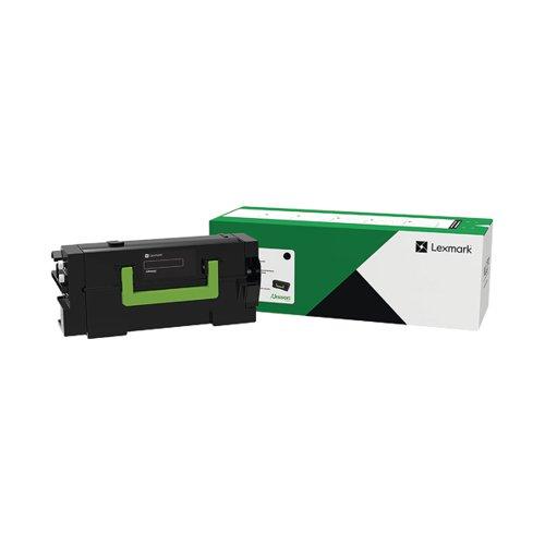 Lexmark High Yield Return Program Black Toner Cartridge 15000 Pages 58D2H0E