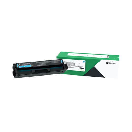 Lexmark High Yield Print Cartridge Cyan C332HC0