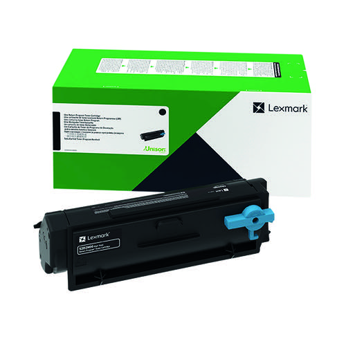 Lexmark B342H00 Black High Yield Return Programme Toner Cartridge B342H00