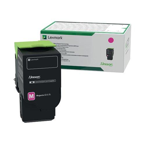 Lexmark C522 Magenta Return Program Toner Cartridge C5220MS