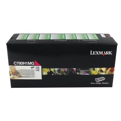 Lexmark C780 Magenta High Yield Return Program Toner C780H1MG