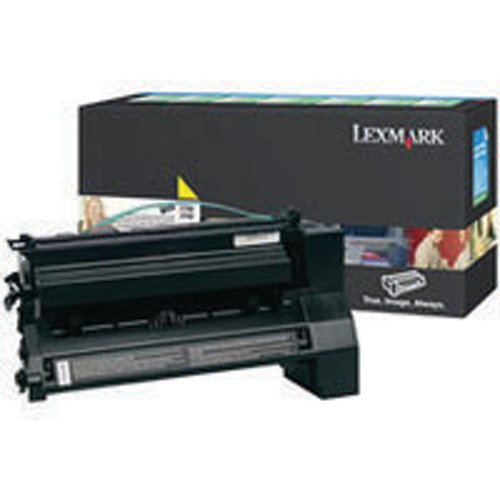 Lexmark C780 Yellow High Yield Return Program Toner Cartridge C780H1YG
