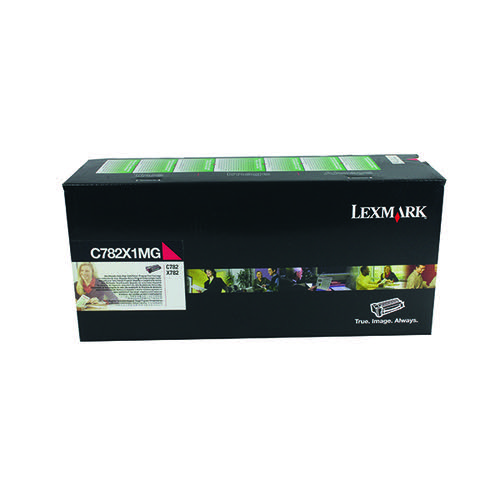 Lexmark C782 Magenta Extra High Yield Toner Cartridge C782X1MG