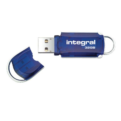 Integral Courier 32GB Flash Drive USB 2.0 INFD32GBCOU