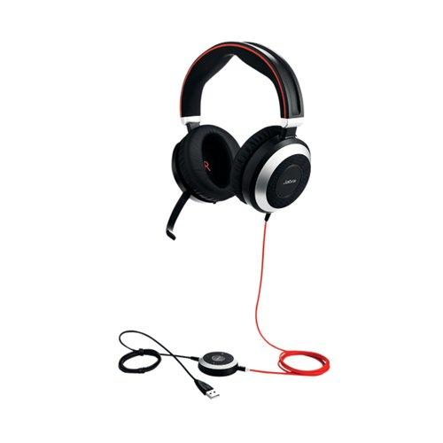 Jabra Evolve 80 USB-A MS Headset 7899-823-109