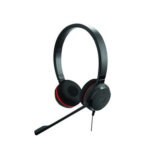 Jabra Evolve 20 SE MS Stereo Binaural Headset (Noise cancelling microphone) 4999-823-309