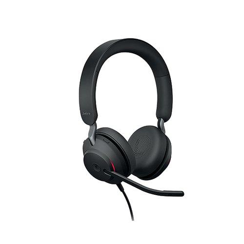 Jabra Evolve2 40 USB-A UC Stereo Headset 706487020028