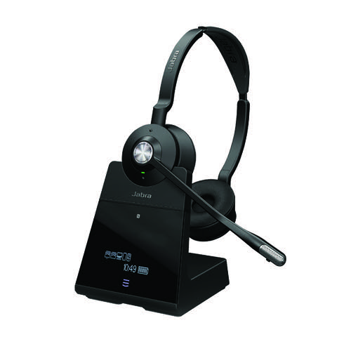 Jabra Engage 65 Black Stereo Headset (Up to 150m range) 9559-553-117