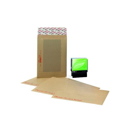 New Guardian Board Back Peel/Seal C4 (Pack of 125) Plus Free Stamp