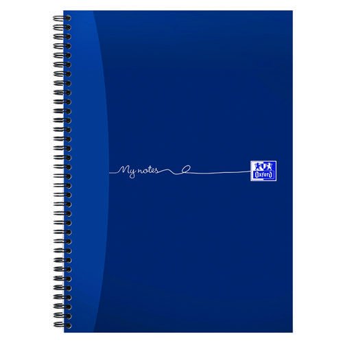 Oxford My Notes Wirebound Notebook 200 Pages A4 (Pack of 3) 100082373