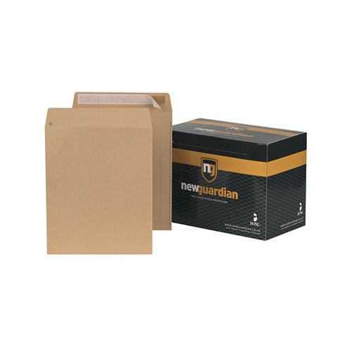 New Guardian C3 Envelope 457x324mm Pocket Manilla (Pack of 125) C27013
