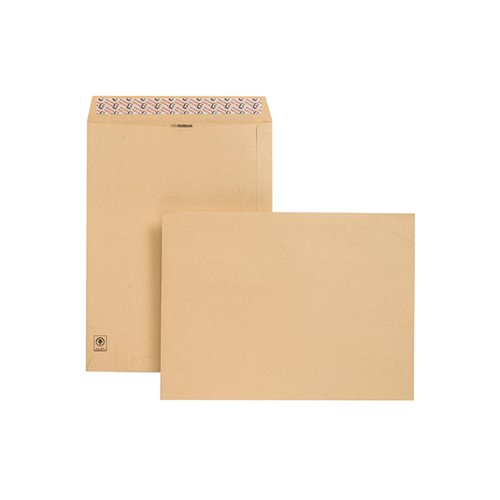New Guardian Envelope 406x305mm Peel/Seal Manilla (Pack of 125) D23703
