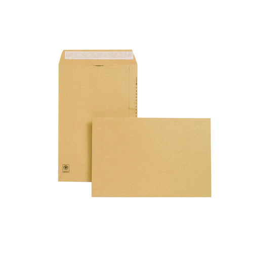 New Guardian Envelope 381x254mm Peel/Seal Manilla (Pack of 125) E23513