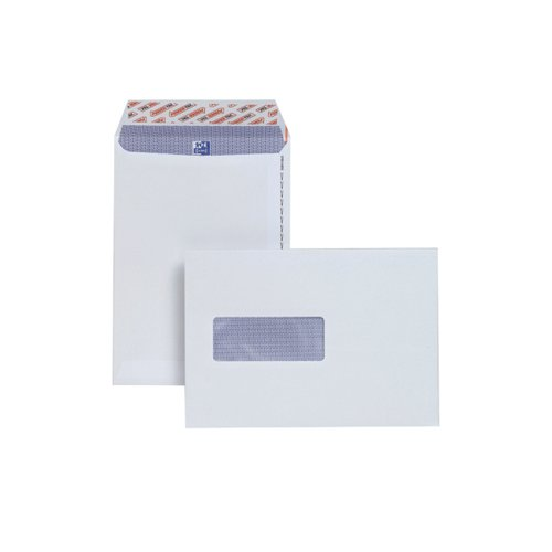 Plus Fabric C5 Envelopes Window Peel and Seal 120gsm White (Pack of 500) E24970