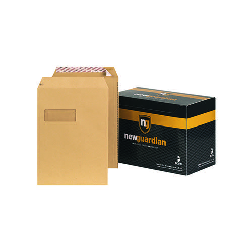 New Guardian C4 Envelope Window Peel/Seal Manilla (Pack of 250) F24203