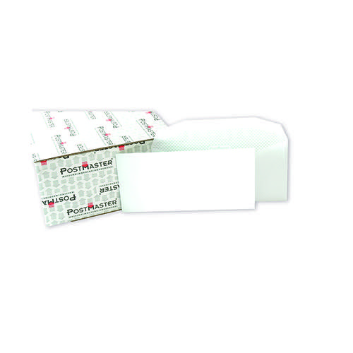 Postmaster DL Envelope 114x235mm Gummed 90gsm White (Pack of 500) F29151
