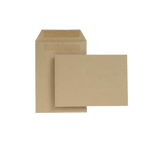 New Guardian C5 Envelope Pocket Self Seal Manilla (Pack of 500) H26211
