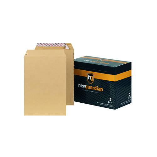 New Guardian C4 Envelope Peel/Seal 130gsm Manilla (Pack of 250) J26339