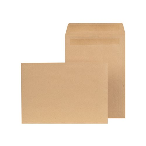 New Guardian C4 Envelope Pocket Self Seal Manilla (Pack of 250) K26309