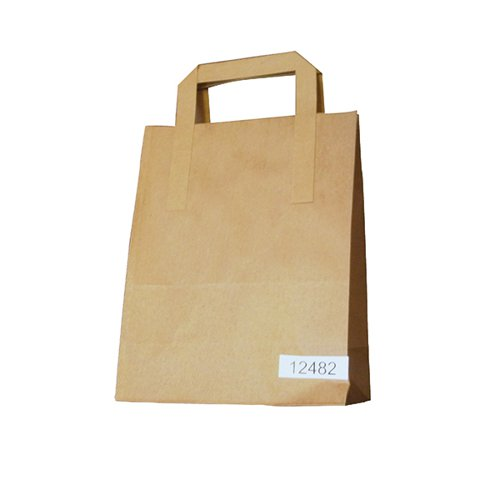 Paper Takeaway Bag Brown (Pack of 250) BAG-SPIC01-A