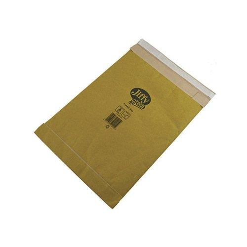 Jiffy Padded Bag Size 0 135x229mm Gold PB-0 (Pack of 10) JPB-AMP-0-10