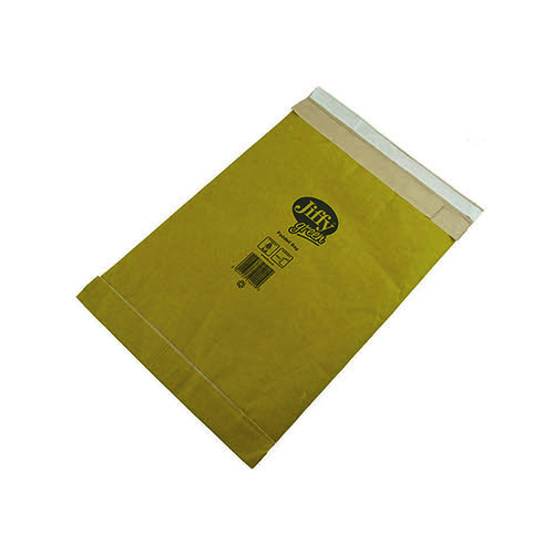Jiffy Padded Bag Size 0 135x229mm Gold PB-0 (Pack of 200) JPB-0 Padded Bags JFP0