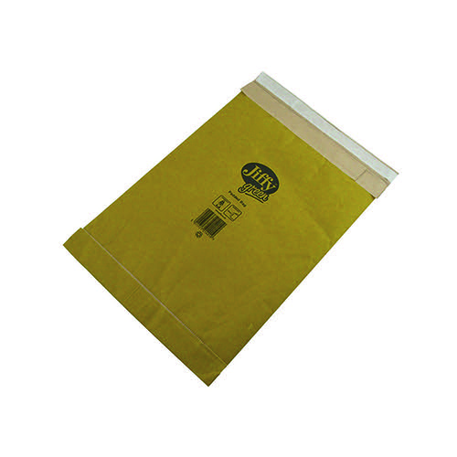 Jiffy Padded Bag Size 3 195x343mm Gold PB-3 (Pack of 100) JPB-3