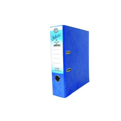 Concord IXL 70mm Selecta Lever Arch File A4 Blue (Pack of 10) 162252