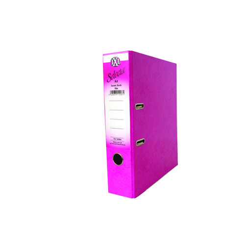 Concord IXL 70mm Selecta Lever Arch File A4 Pink (Pack of 10) 162242