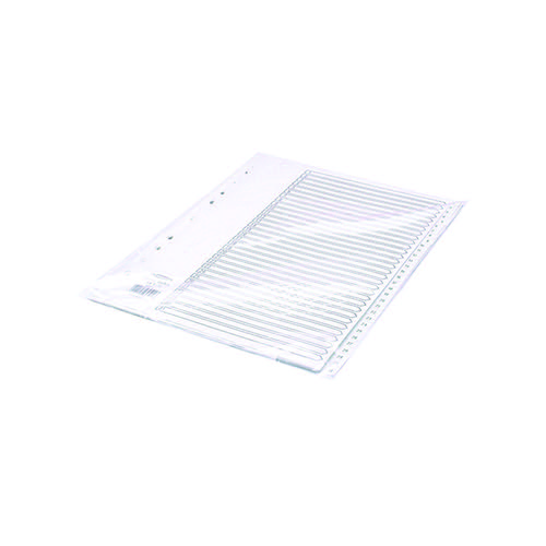 Concord Index 1-31 A4 Polypropylene White 64501