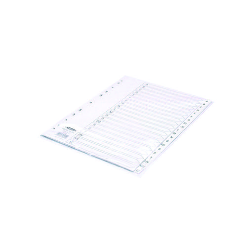 Concord A4 20-Part A-Z White Polypropylene Index 64601