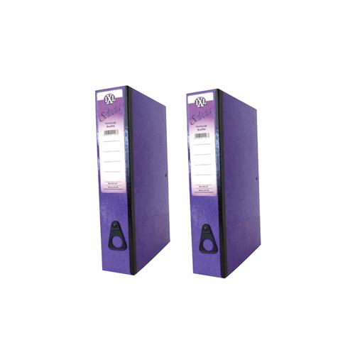 Concord IXL Selecta Box File Purple (Pack of 10) BOGOF JT816015