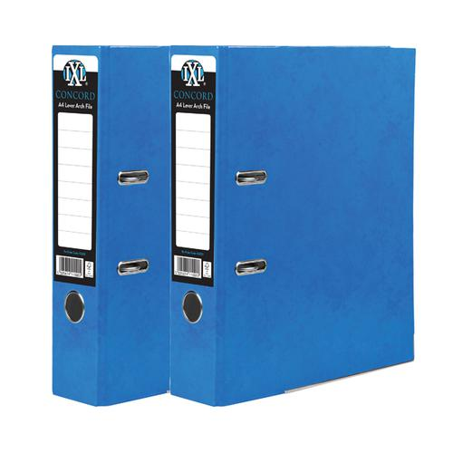 Concord IXL Lever Arch File A4 70mm Blue (Pack of 10) BOGOF JT816017