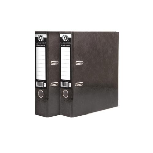 Concord IXL Lever Arch File A4 70mm Black (Pack of 10) BOGOF JT816020