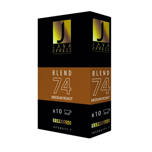 Java Xpress Blend 74 Coffee Capsules (Pack of 100) JX1074