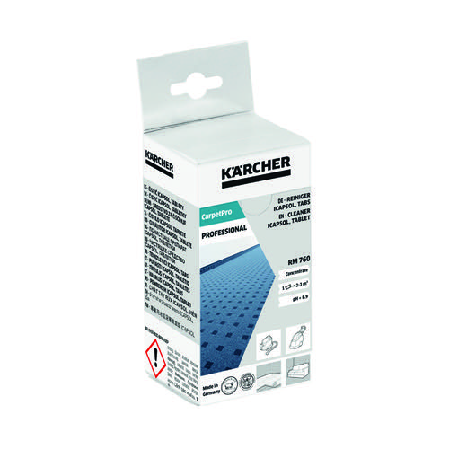 Karcher Professional Carpet Cleaning Tablets (Pack of 16) 6.295-850.0 by , KA03235